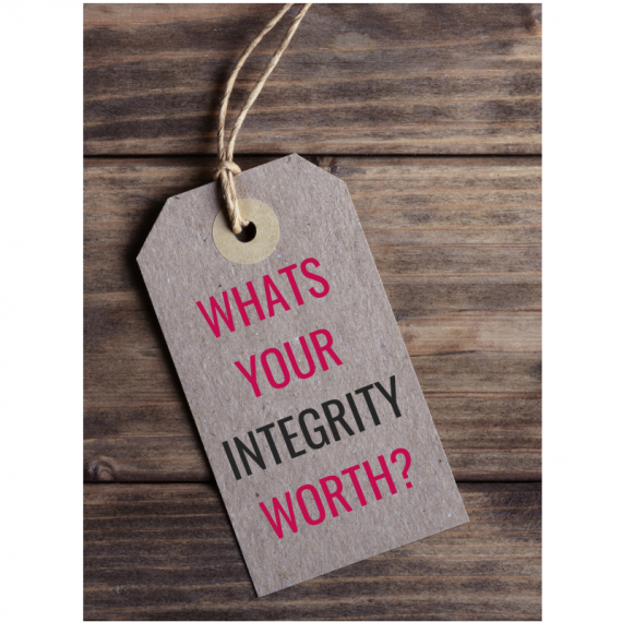Charge with integrity
