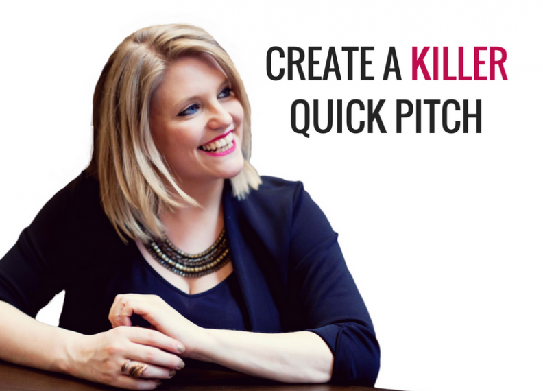 How to create a killer elevator pitch