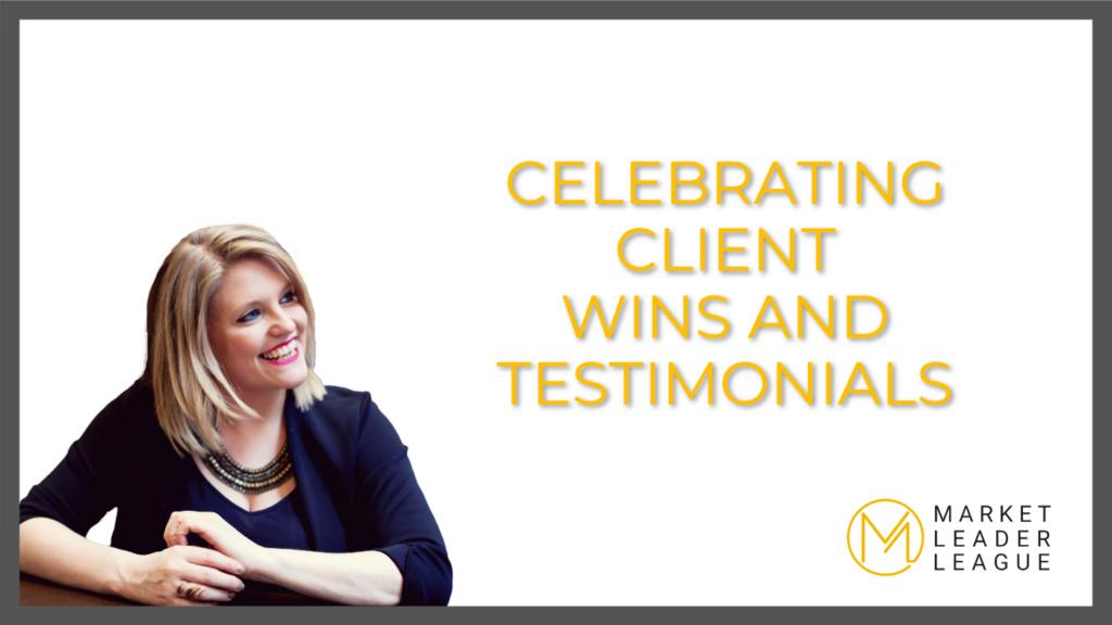 celebrating client wins