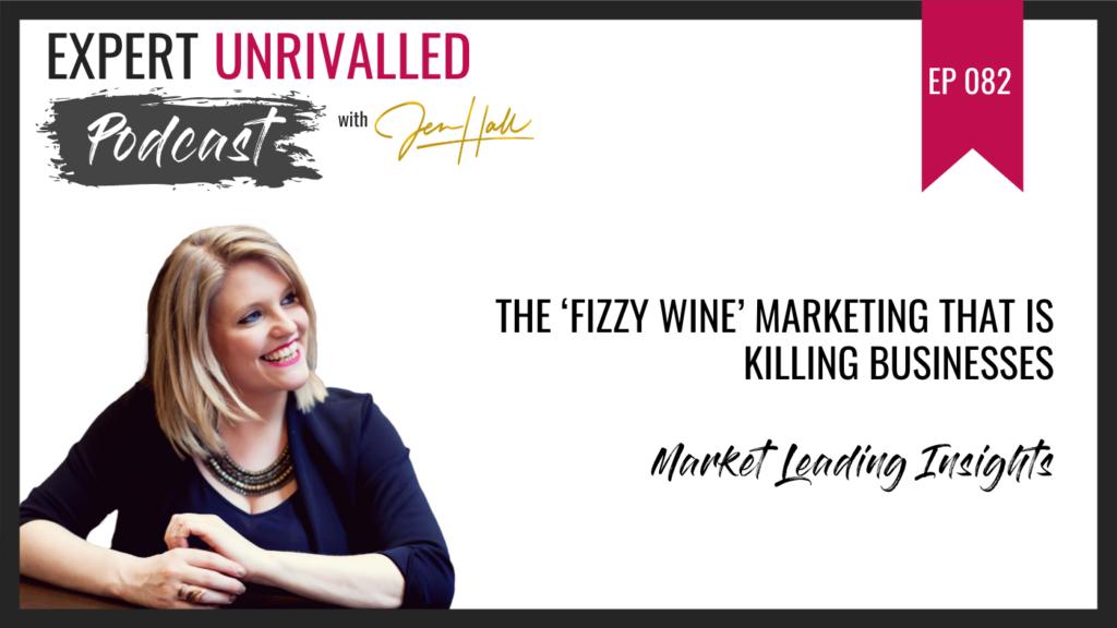fizzy wine marketing