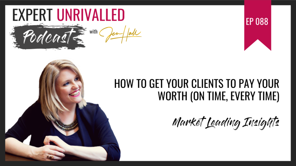 get your clients to pay your worth