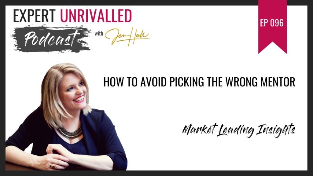 How to avoid picking the wrong mentor
