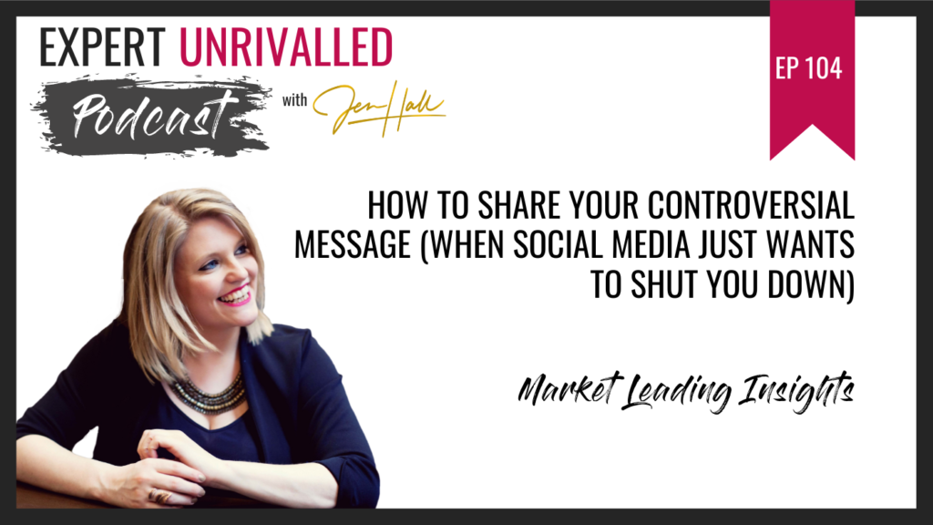 How to share your controversial message